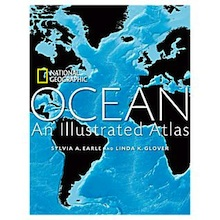 Cover of Ocean: An Illustrated Atlas from National Geographic.