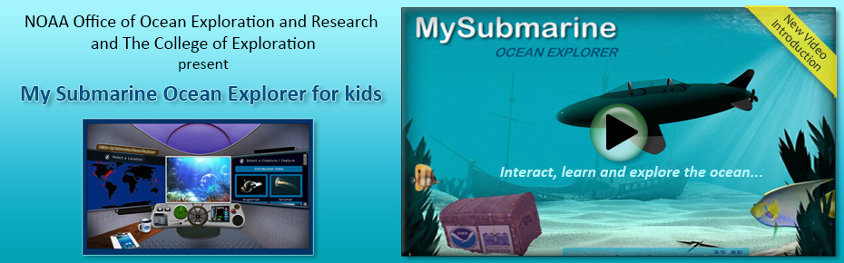 My Submarine Ocean Explorer for Kids